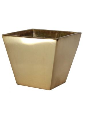 Bellagio Brass Slipper Cup Square