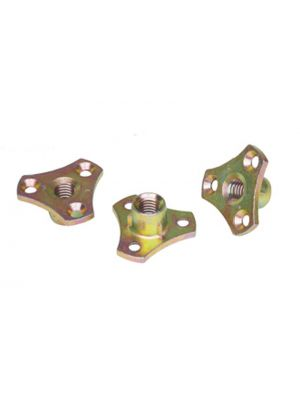 D Nut with Screw Flange
