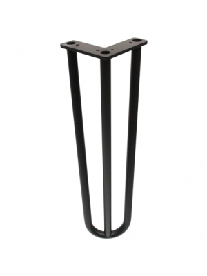 Marche Hairpin Coffee Table Legs - Matte Black Finish