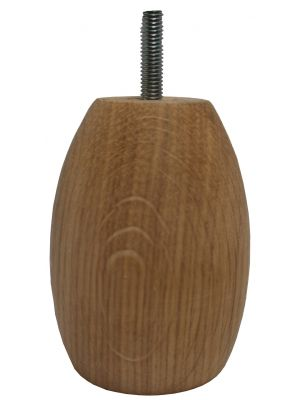 Mia Solid Oak Egg Wooden Furniture Feet