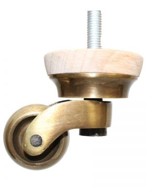 Ramona Furniture Legs with Standard Antique Shallow Castors